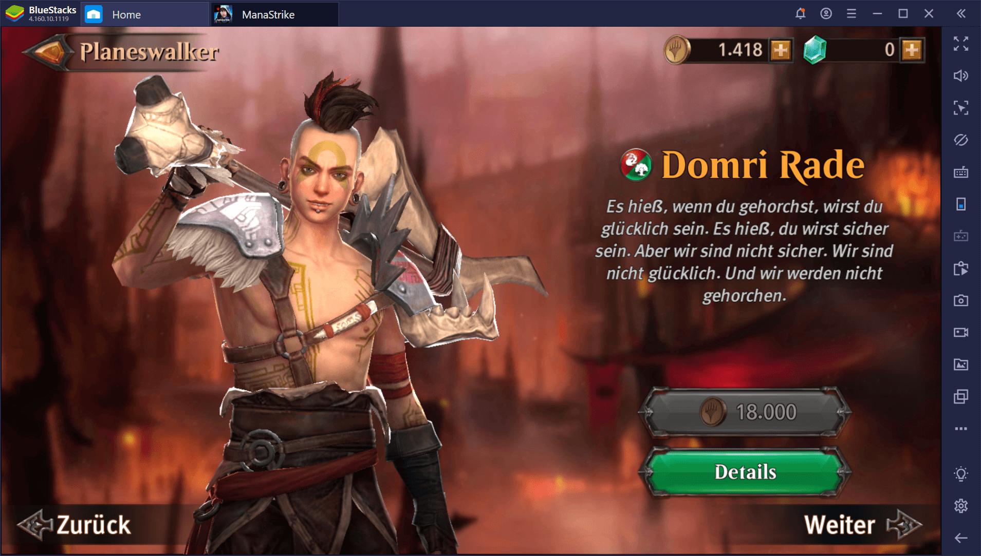 So steigst du in Magic: ManaStrike auf dem PC schnell auf