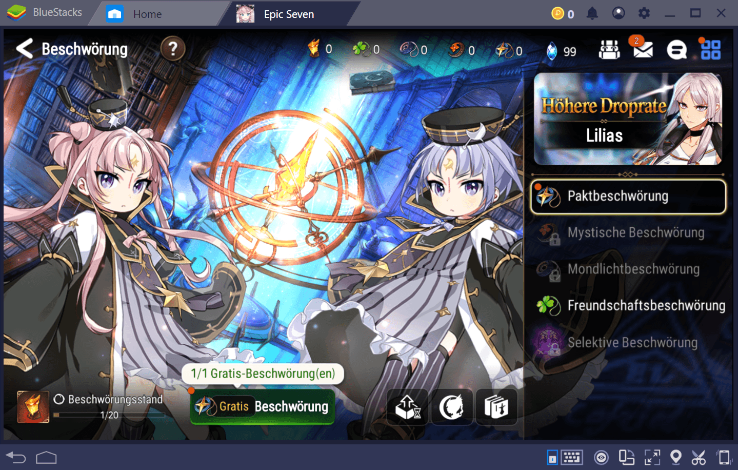 Epic Seven BlueStacks Installations-Guide