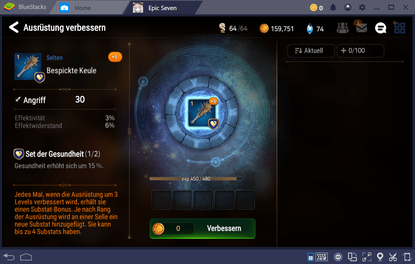 Epic Seven: Finde die beste Ausrüstung und lege sie deinen Helden an