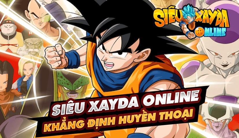 Siêu Xayda Online: Cuộc Chiến Vũ Trụ – Game mới đề tài Dragon Ball sắp ra mắt