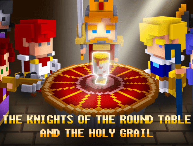 Play Cube Knight: Battle of Camelot on PC 6