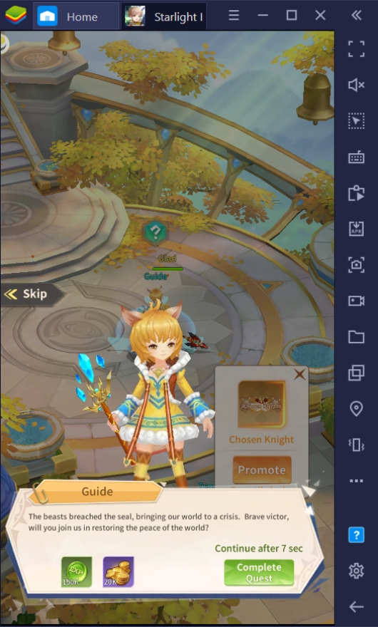 How To Play Starlight Isle On PC With BlueStacks