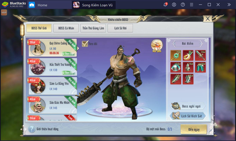 Bí kíp nhập môn siêu chuẩn cho game thủ Song Kiếm Loạn Vũ