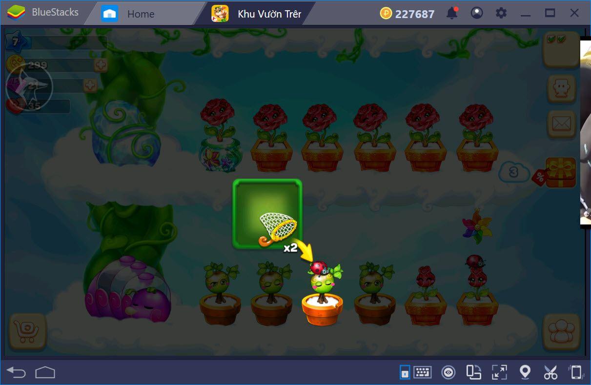 Sky Garden: Cách thêm tầng, nâng cấp chậu và kiếm cây mới