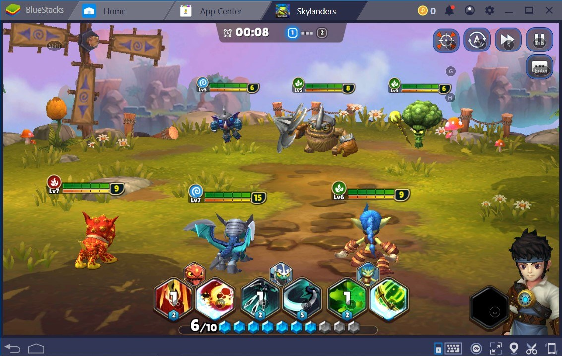 BlueStacks Installation and Configuration Guide for Skylanders Ring of Heroes