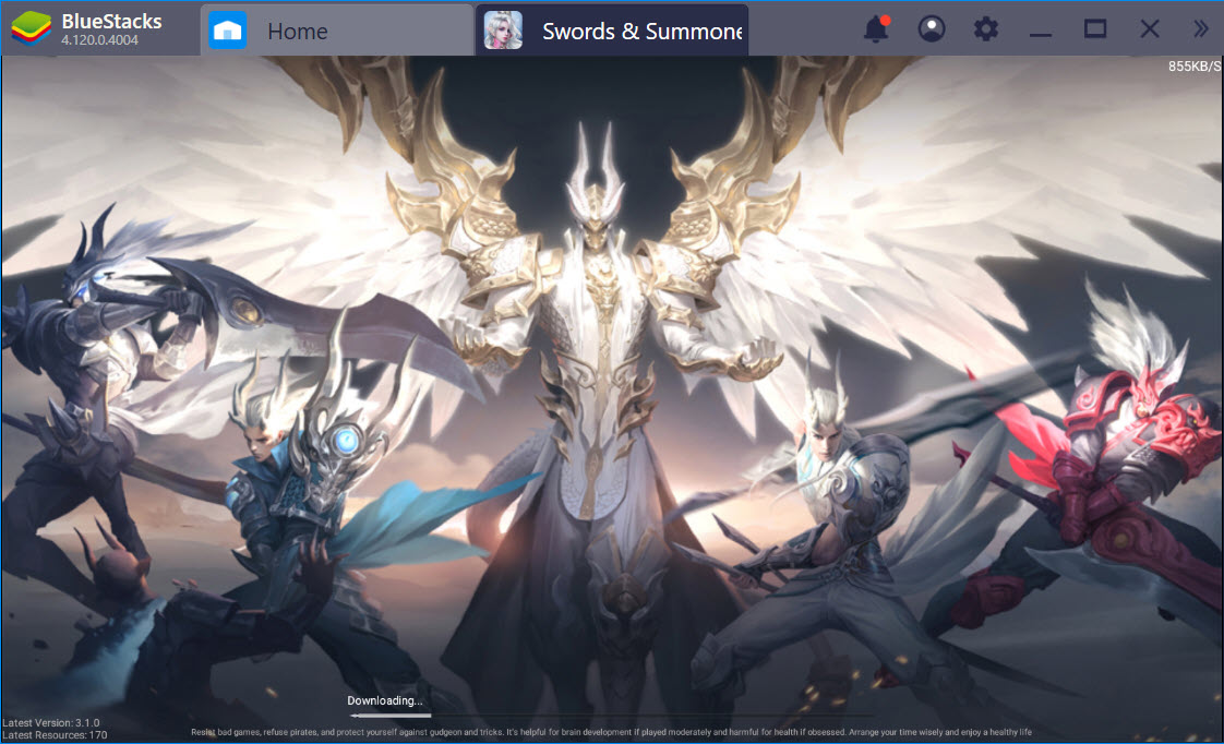 Cùng khám phá thế giới Swords & Summoners với BlueStacks
