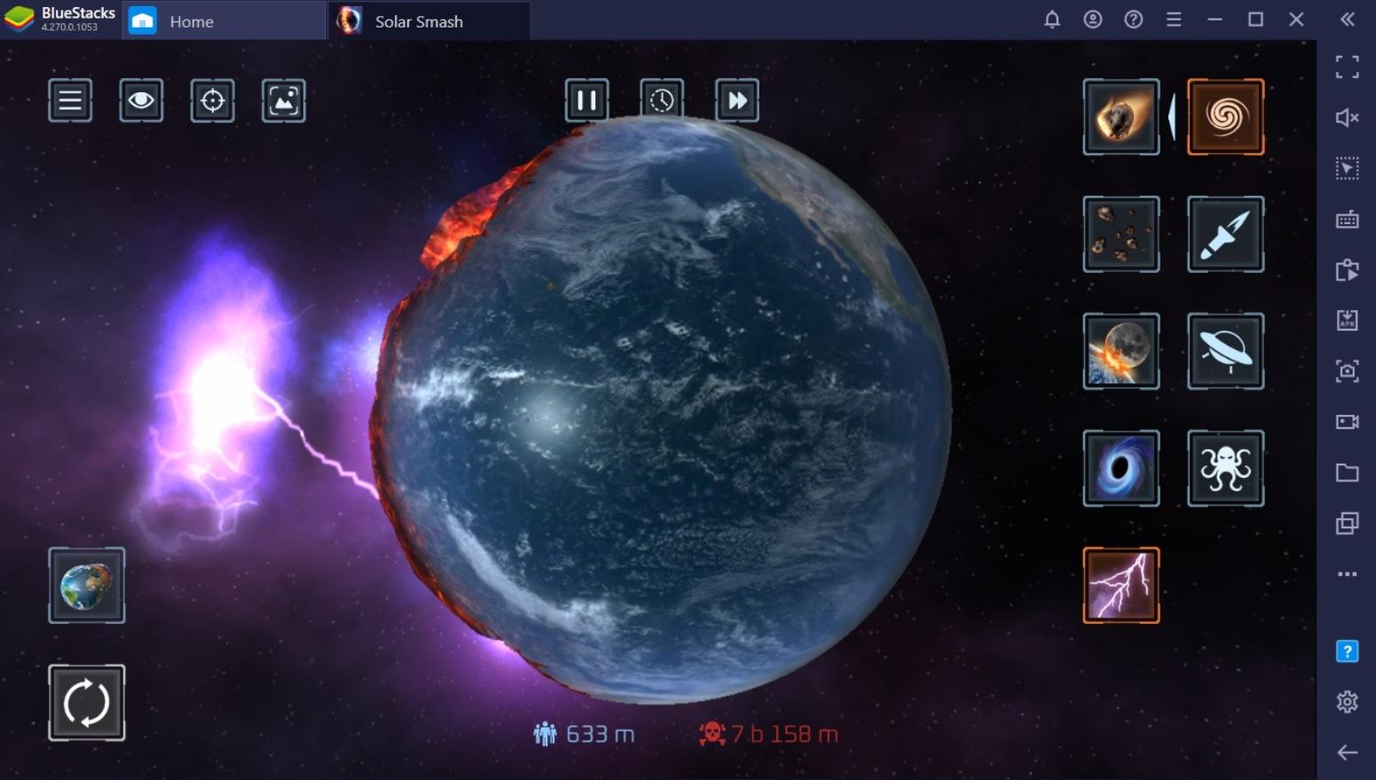 Explaining Weapon Types in Solar Smash!