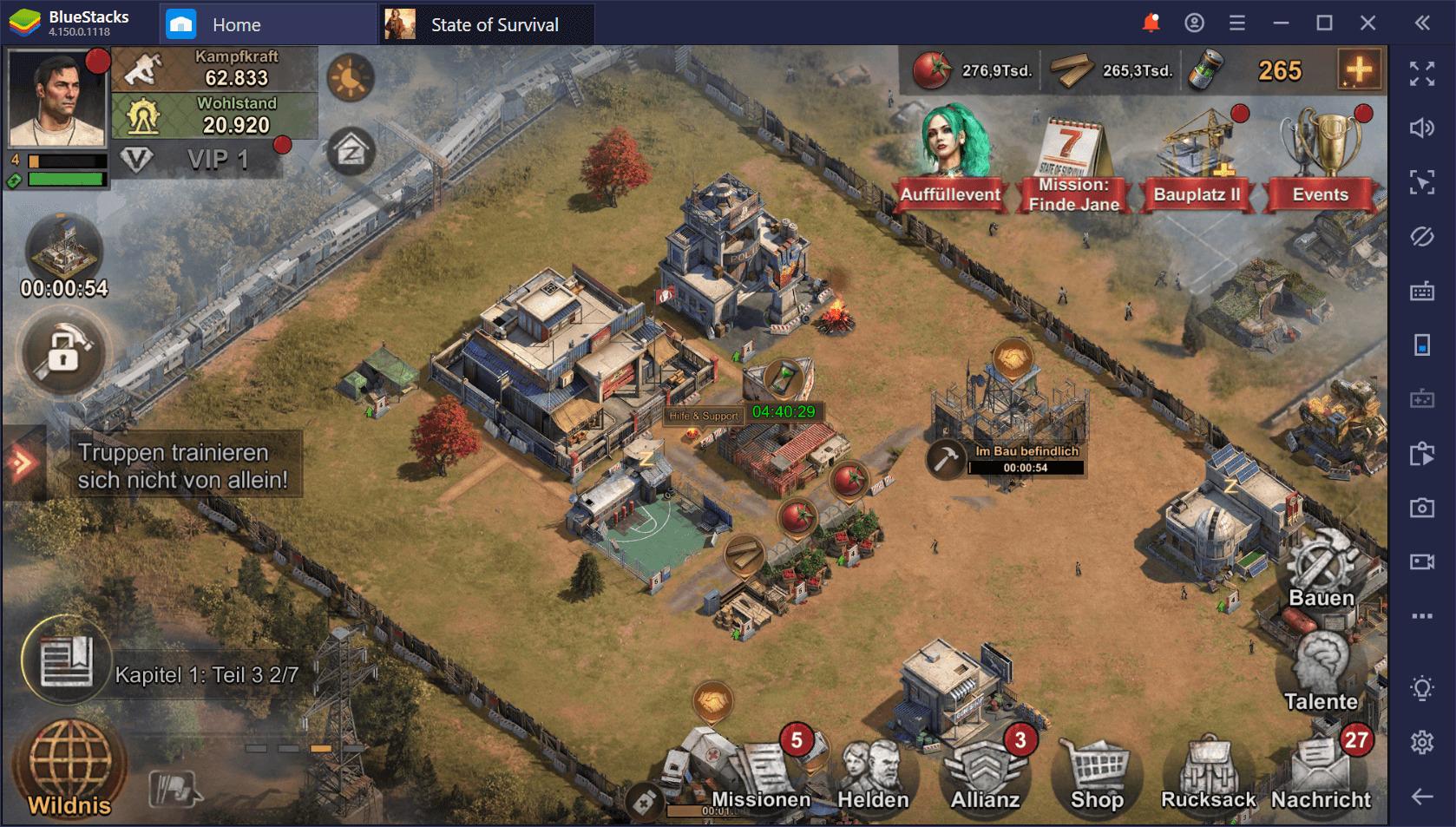 Helden in State of Survival auf dem PC: Ein Guide zu den besten Helden im Spiel