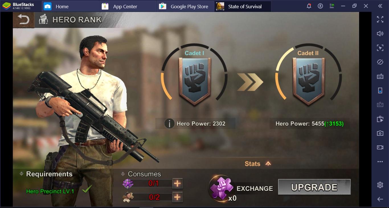 มี Hero ไว้ไม่เสียหายในเกม State of Survival