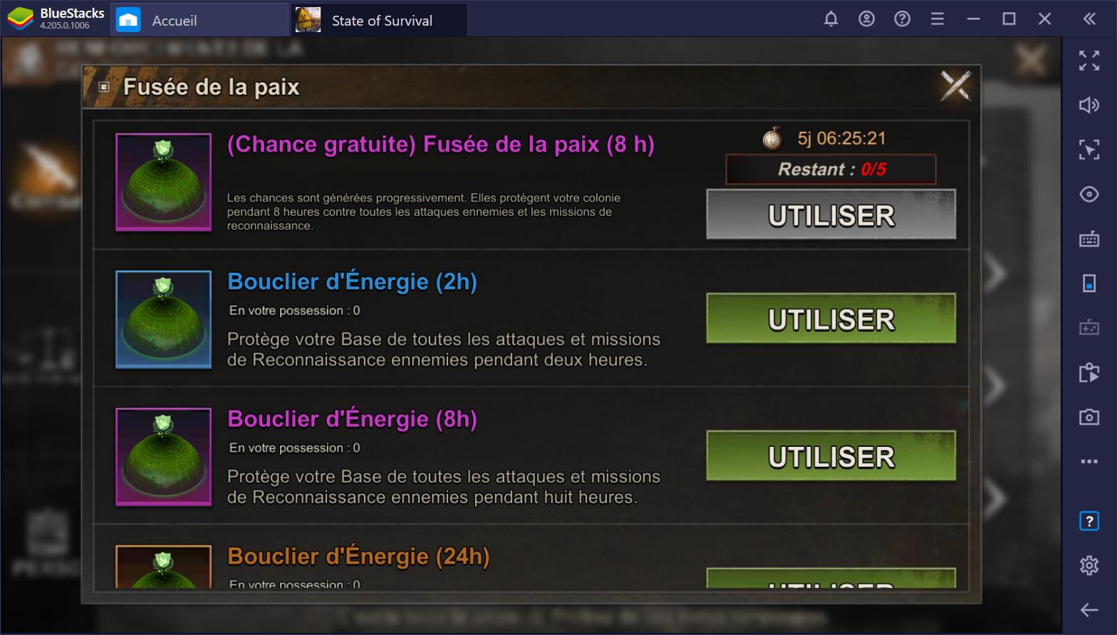 State of Survival sur PC : Comment augmenter rapidement sa puissance de bataille