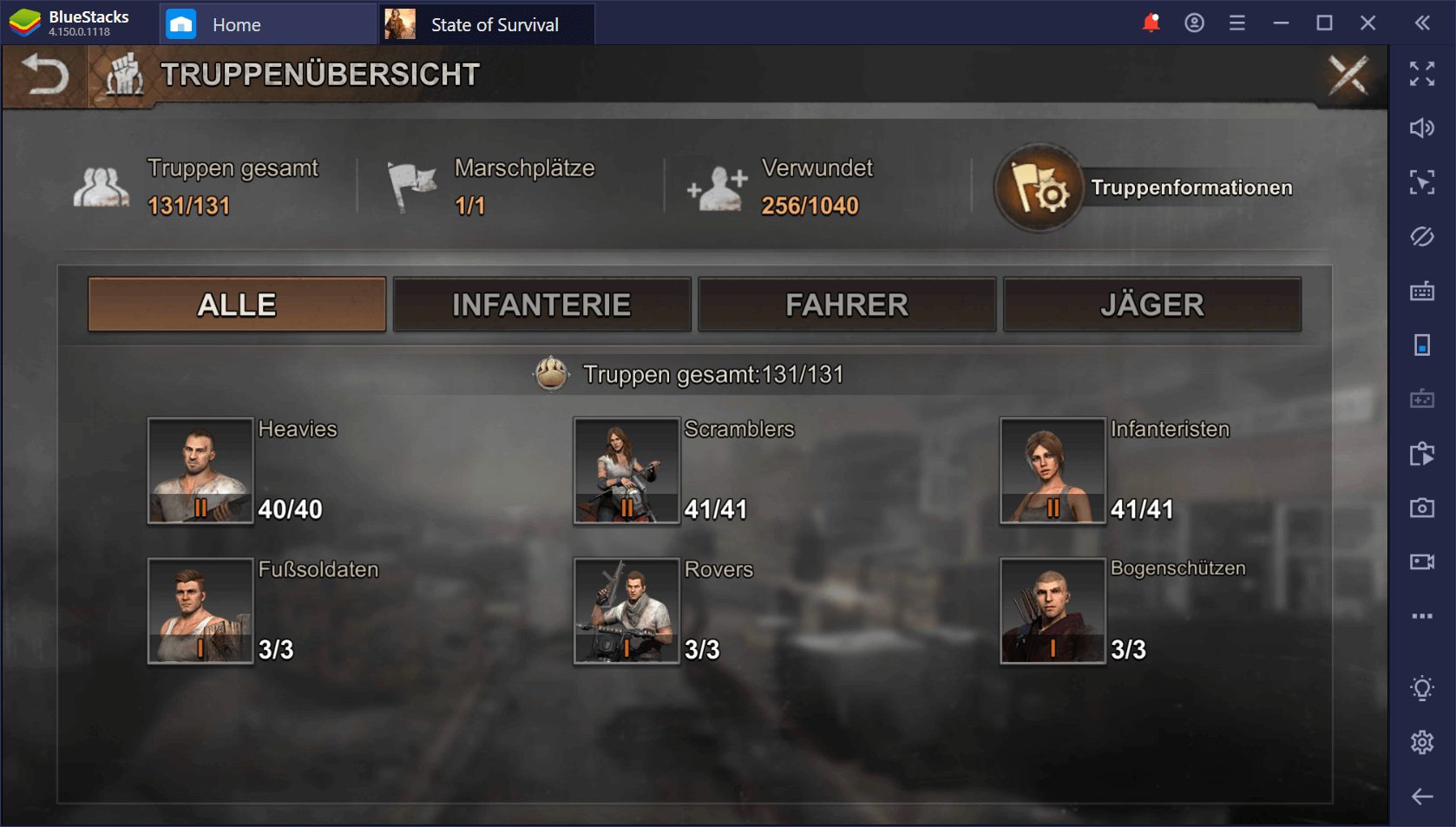 State of Survival auf dem PC: Rekrutiere eine Armee von Zombieklatschern