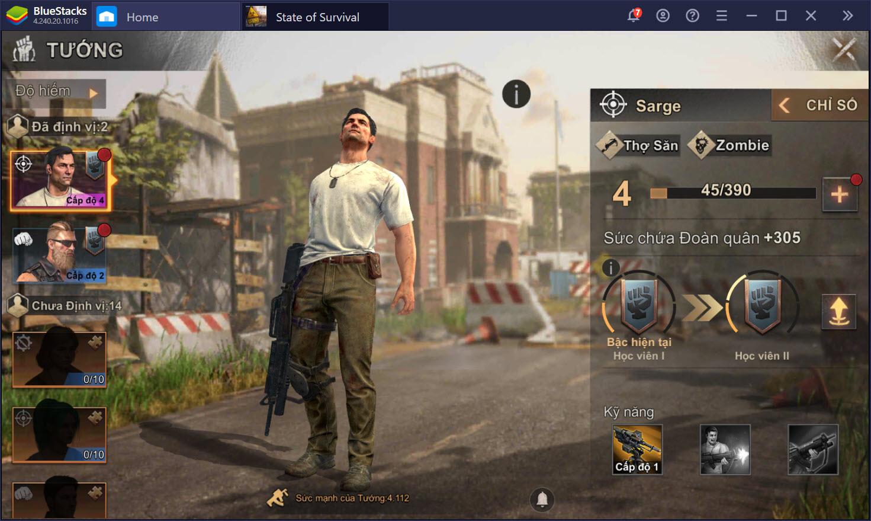 Hướng dẫn sinh tồn khi chơi State of Survival trên PC với BlueStacks