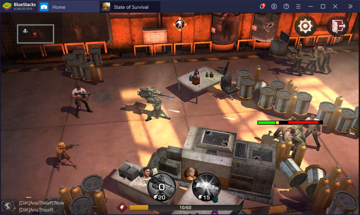 State of Survival: Sinh tồn trong thế giới zombie chết chóc cùng BlueStacks
