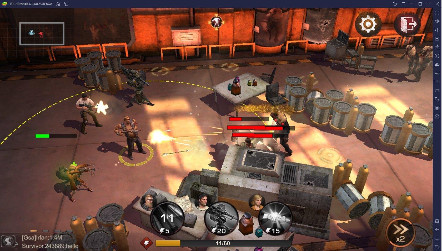 S.O.S: 스테이트 오브 서바이벌 워킹 데드 콜라보 진행, 대릴 딕슨을 블루스택 앱플레이어로 PC에서 만나봐요
