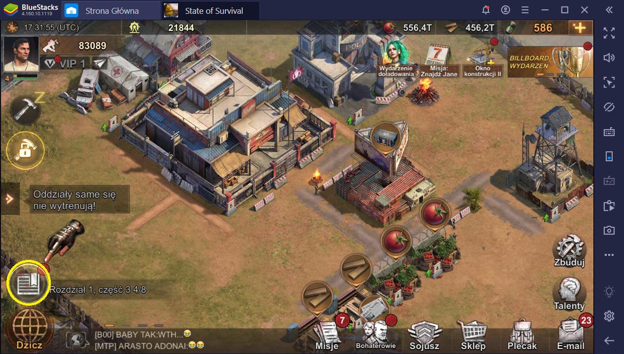 Ciekawostki i wskazówki dla State of Survival na PC