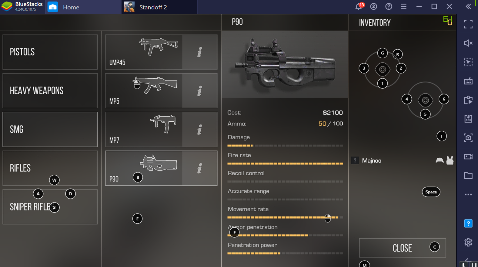 Lurker Guide for Standoff 2 on PC with BlueStacks