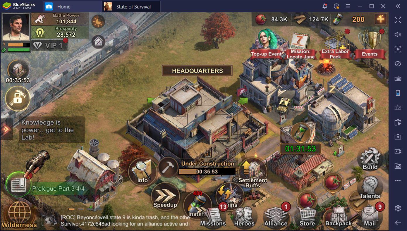 State of Survival trên PC: Những mẹo cần biết để sống sót trong đại dịch zombie