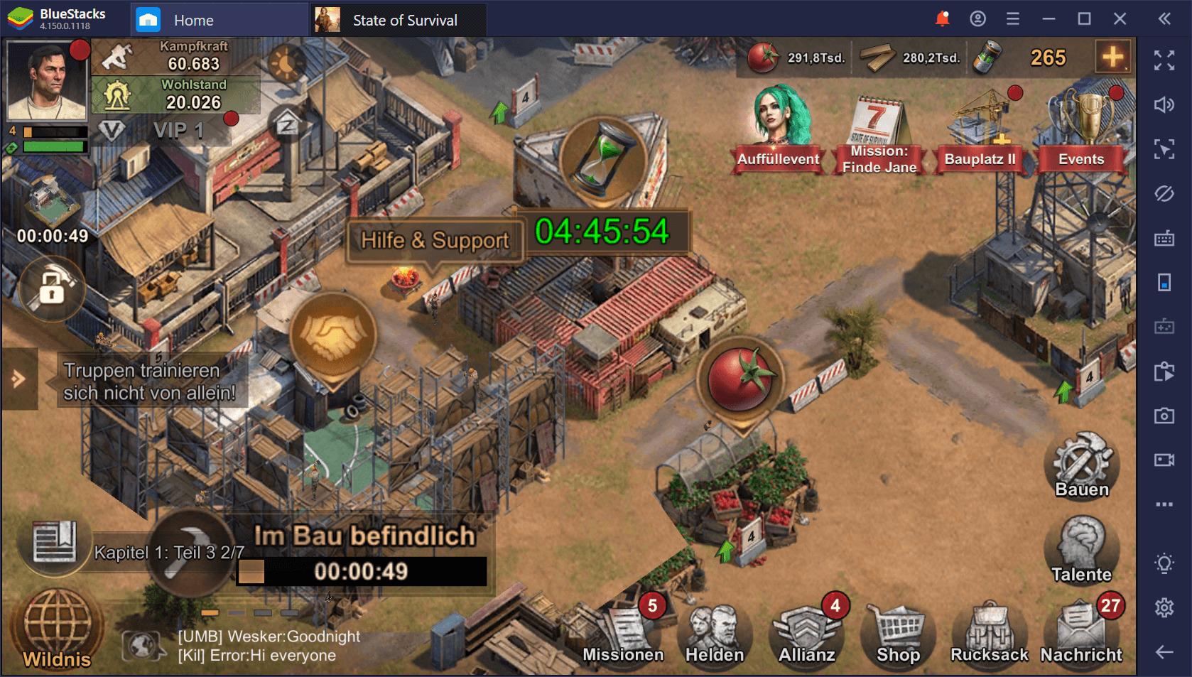 State of Survival auf dem PC: Tipps und Tricks zum Überleben der Zombie-Bedrohung