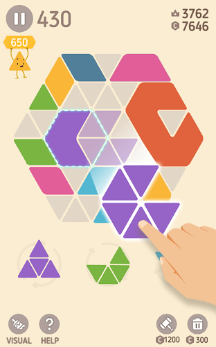 Play Make Hexa Puzzle on pc 3