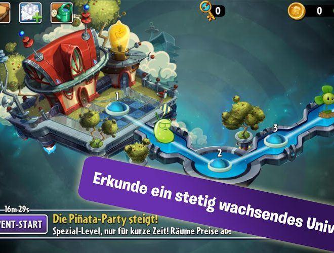 Spielen Plants vs Zombies 2 on PC 3