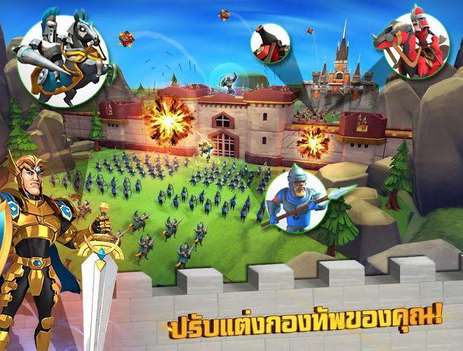 เล่น Lords Mobile on PC 4