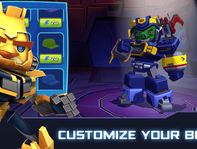 Play Angry Birds Transformers on PC 5