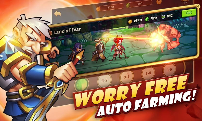 Play Idle Heroes on PC 6
