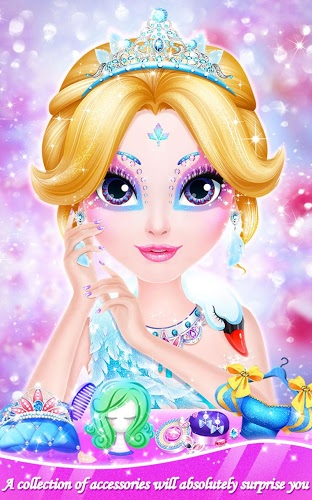 Chơi Makeup Salon: Princess Party on pc 14