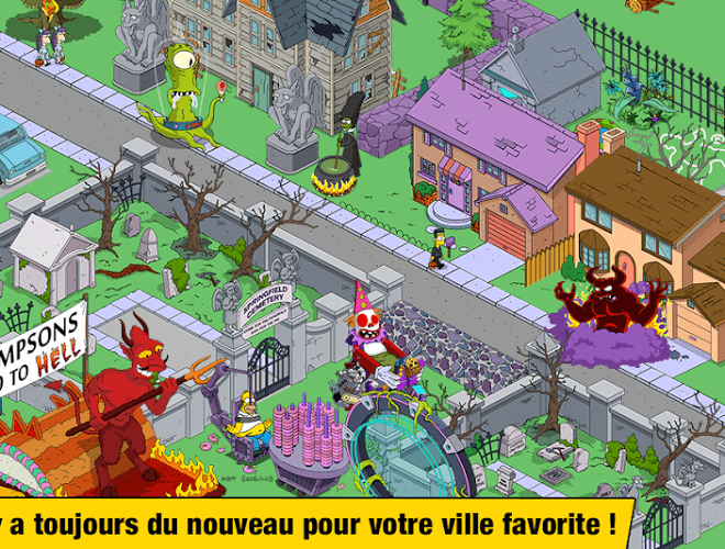 Joue Simpsons Tapped Out on pc 5