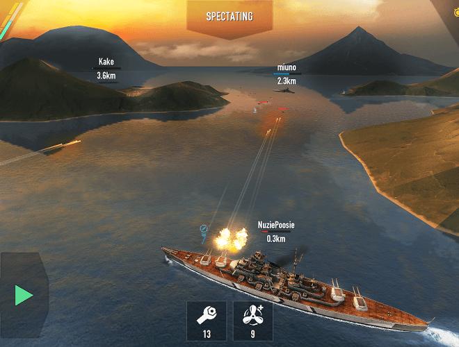 Играй Battle of Warships На ПК 25