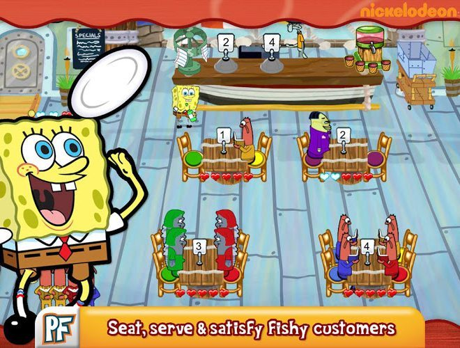Play SpongeBob Diner Dash on PC 2
