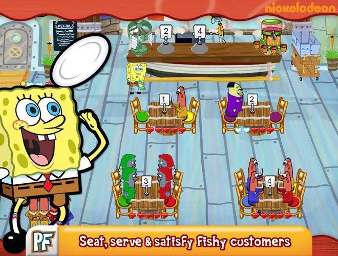 Play SpongeBob Diner Dash on pc 2