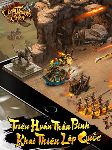Chơi Công Thành Chiến Mobile on PC 3
