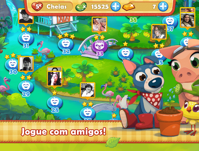 Jogue Farm Heroes para PC 12