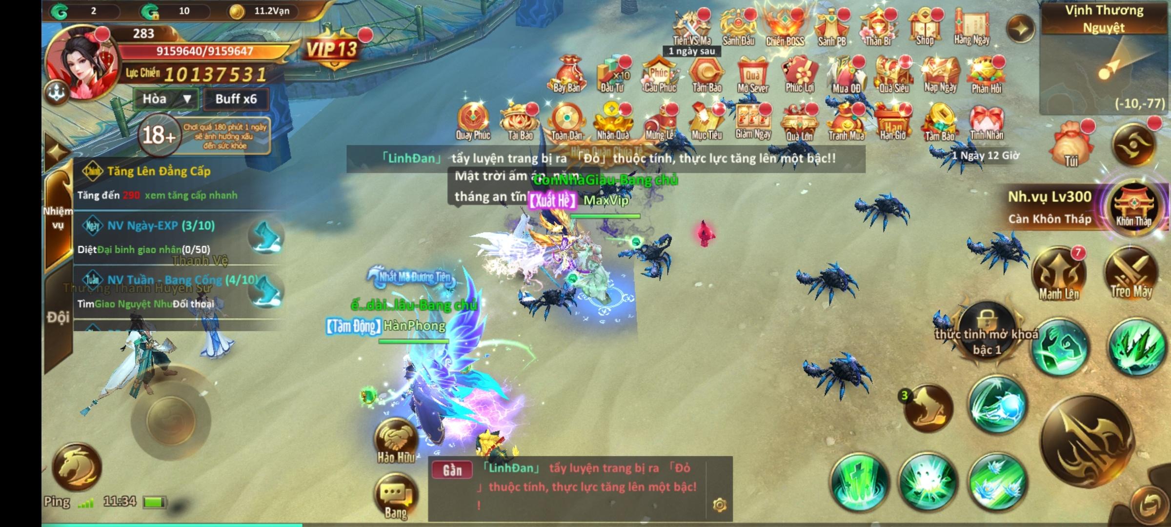 Tam Sinh Kiếp Mobile: Game kết hợp hai chất liệu kiếm hiệp và tiên hiệp