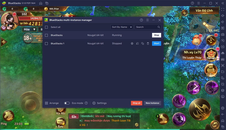 Trải nghiệm Tam Sinh Kiếp trên PC cùng BlueStacks
