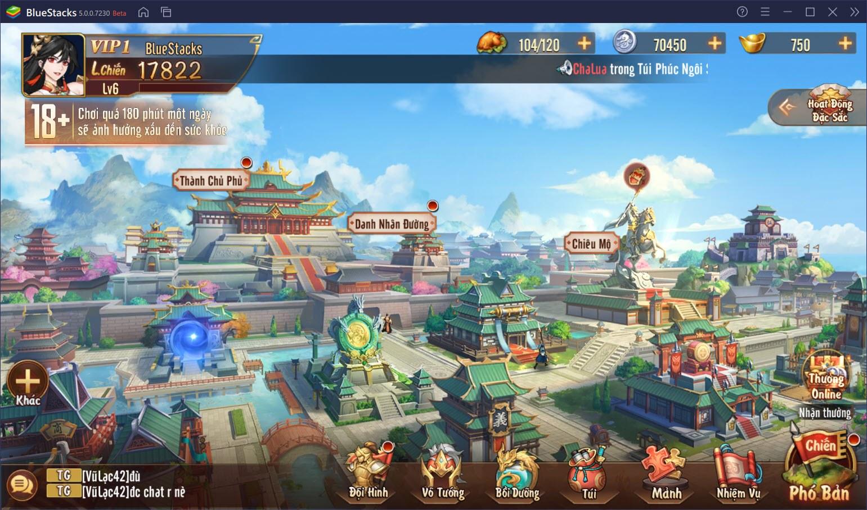 Trải nghiệm Tân OMG3Q VNG trên PC: Game đấu tướng thẻ bài thế hệ mới