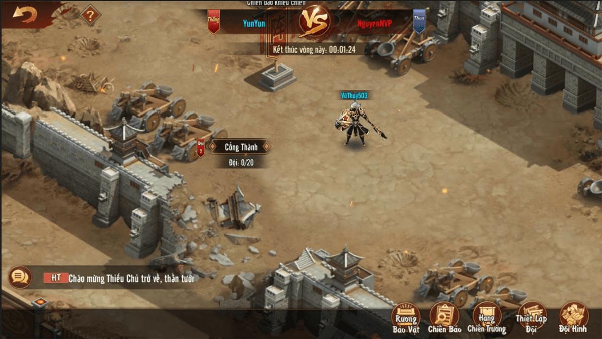 Tân OMG3Q VNG: Hướng dẫn xây dựng đa đội hình, đa chiến thuật