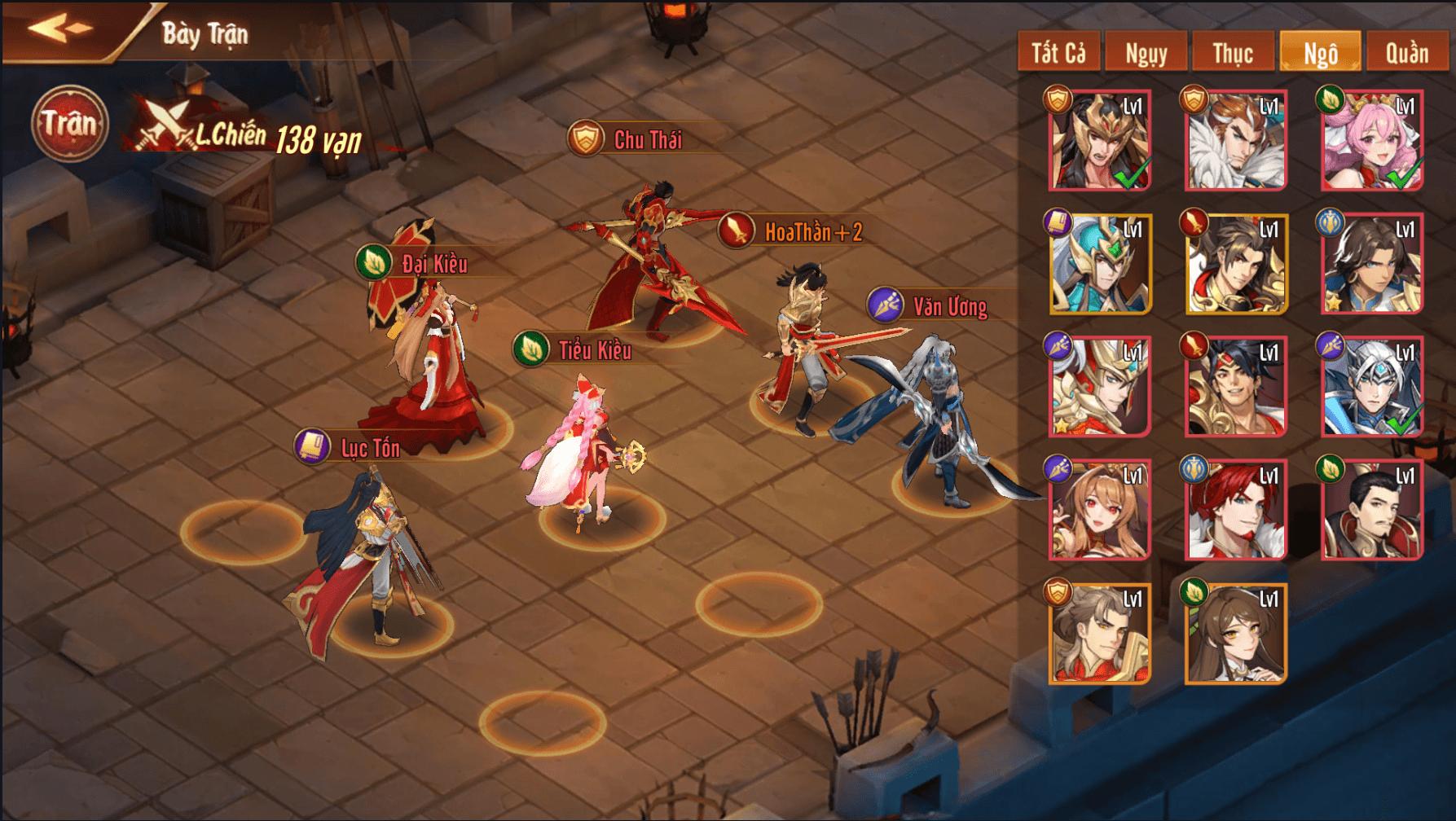 Game đấu tướng Tam quốc Tân OMG3Q VNG chính thức ra mắt