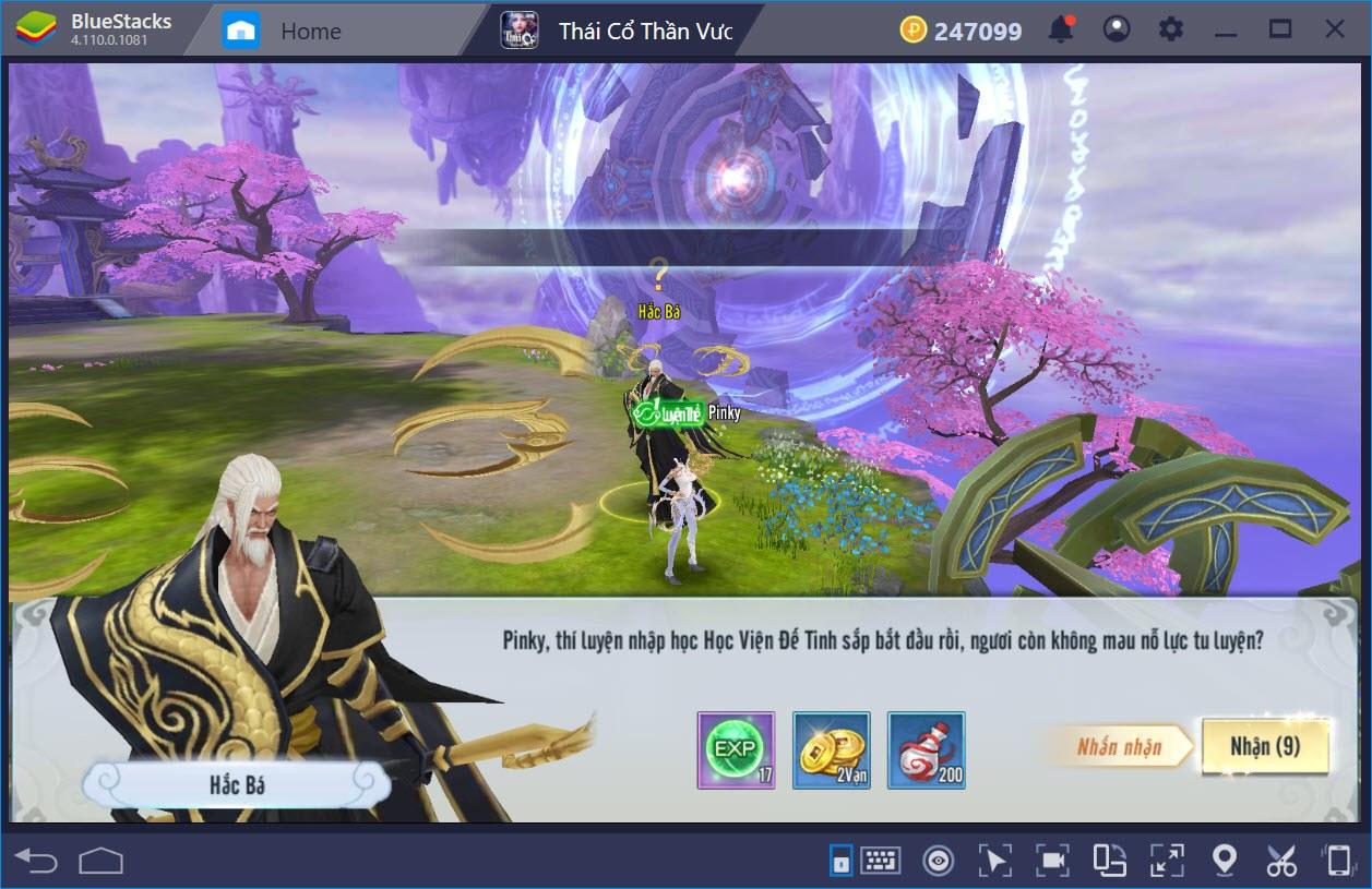 Thái Cổ Thần Vương: Cách chơi cơ bản cho người mới