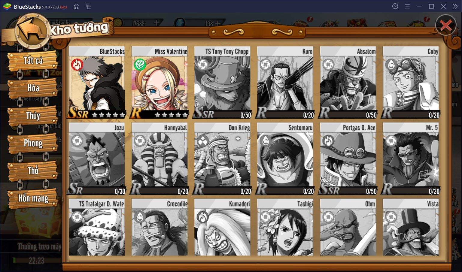 Bạn sẽ trở thành hải tặc nào trong Thời Đại Hải Tặc?