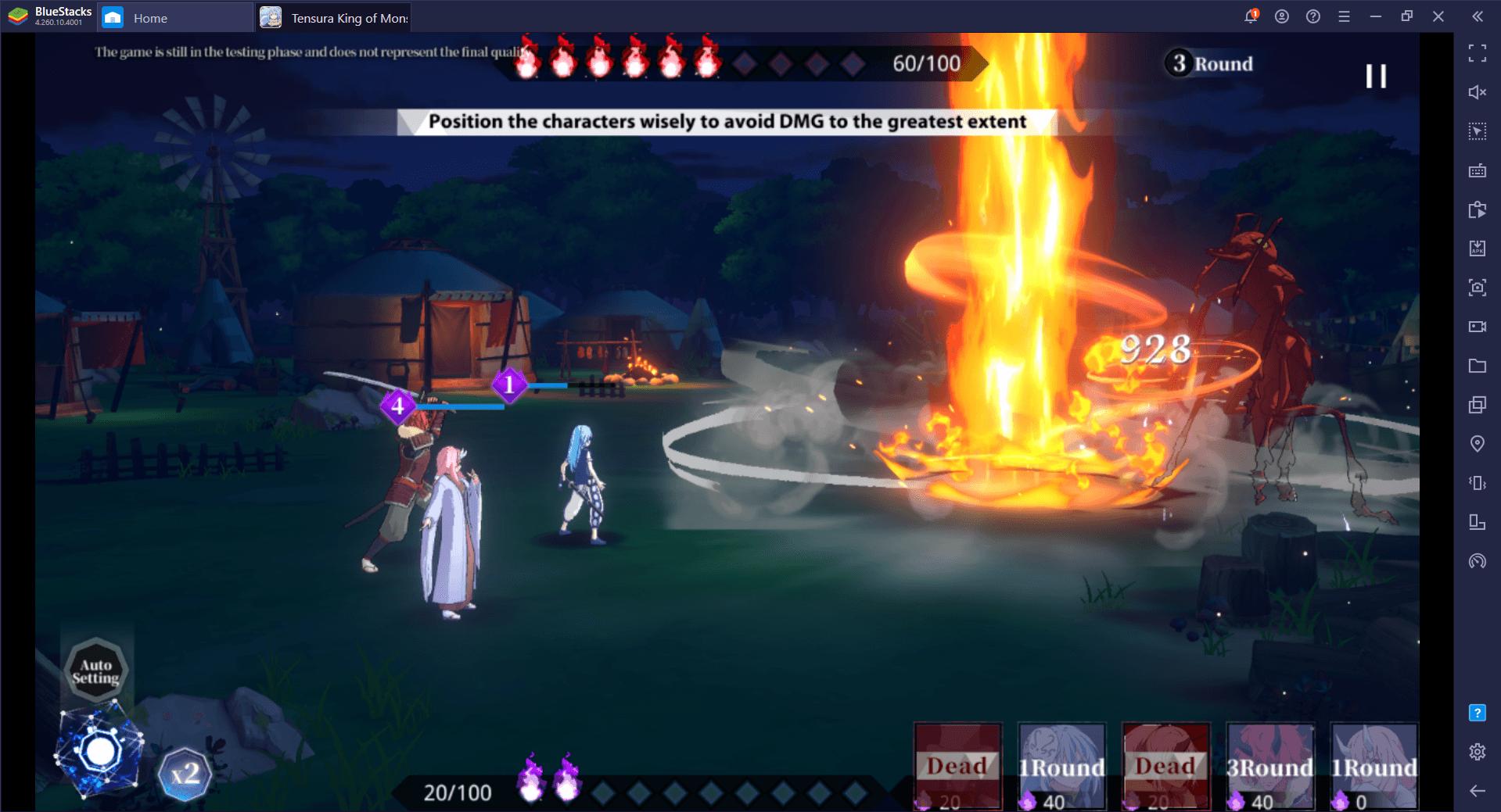Tips Penting untuk Pemain Pemula di Tensura: King of Monsters di PC
