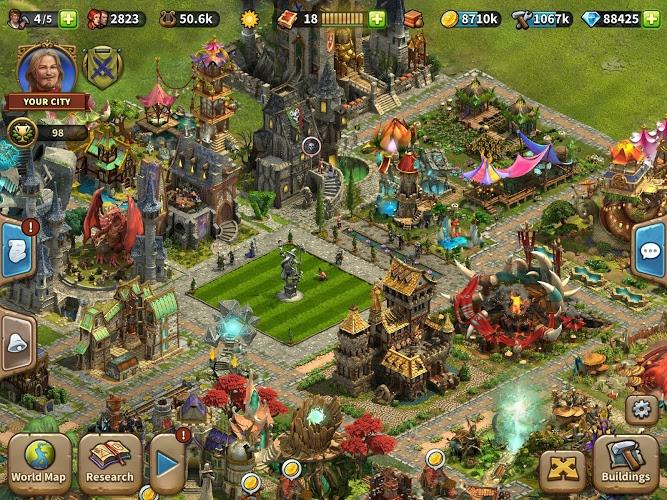 Jouez à  Elvenar sur PC 9