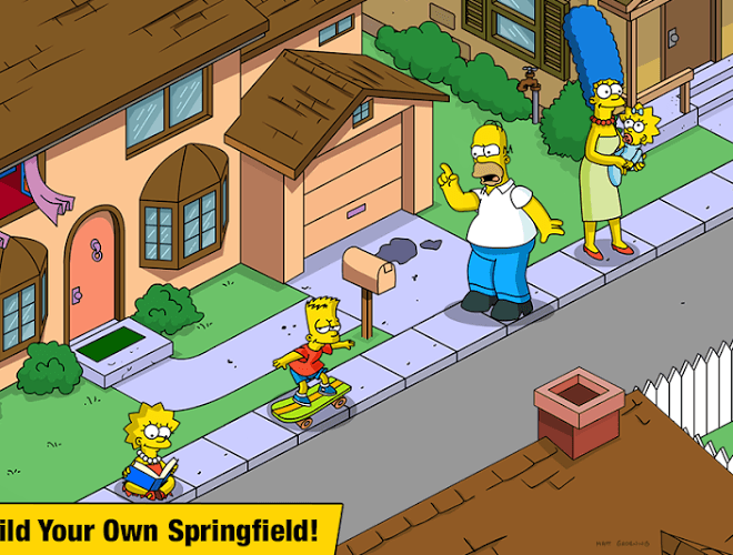 Spustit Simpsons Tapped Out on PC 2