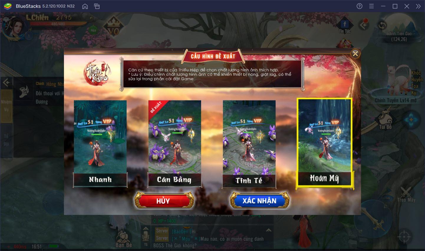 Tham gia Thần Ma phân tranh trong Thần Kiếm Mobile trên PC