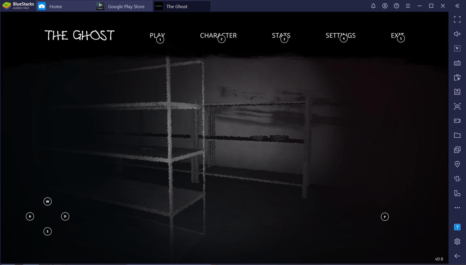 Cara Bermain The Ghost – Co-op Survival Horror Game via BlueStacks di PC!