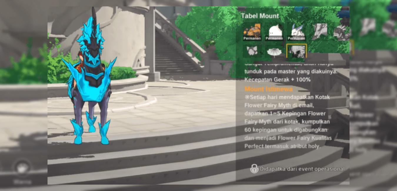 Cara Mendapatkan Trading Acorn & Mount Thunder – The Legend of Neverland!