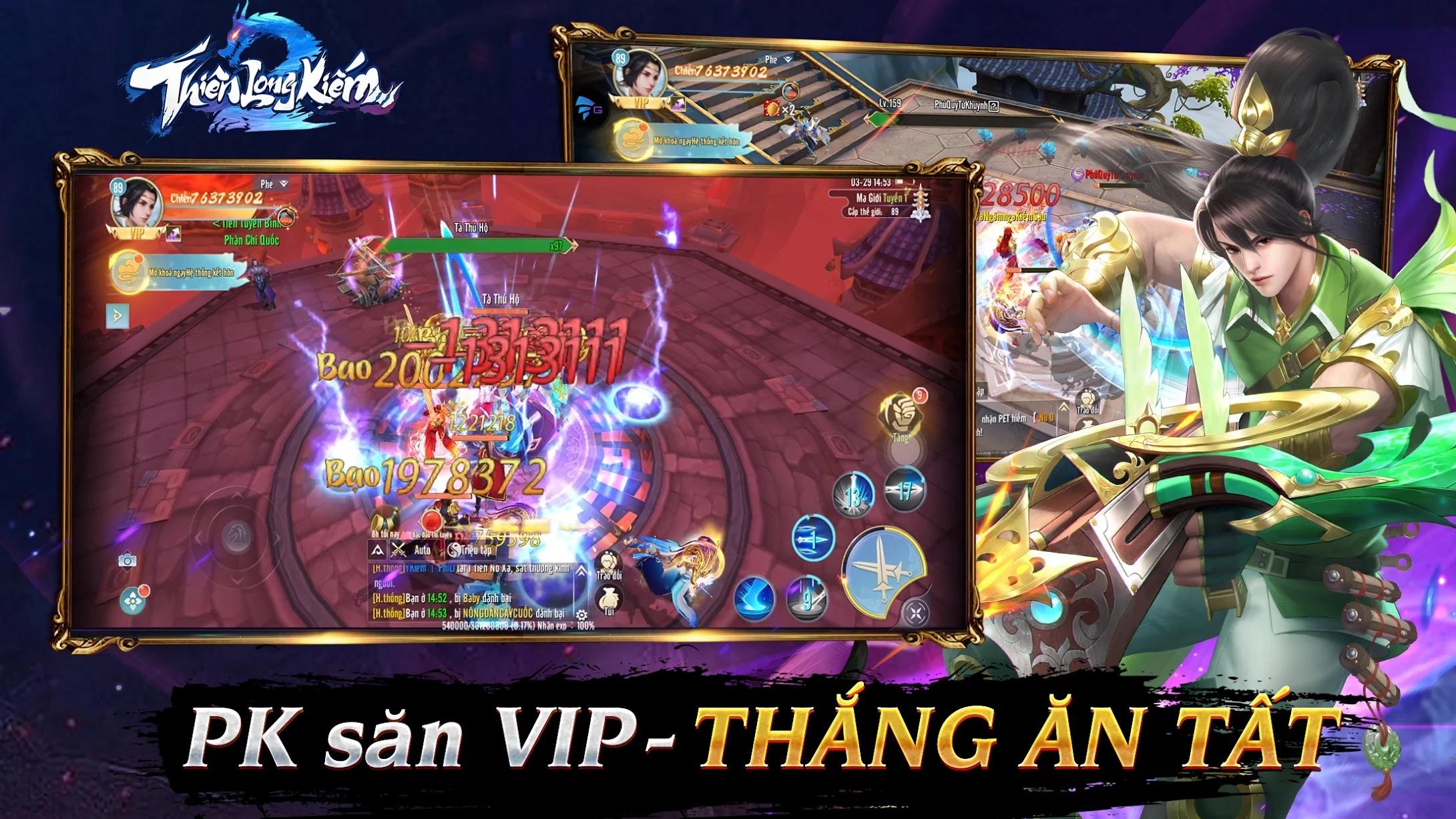 Thiên Long Kiếm 2 chính thức phát hành