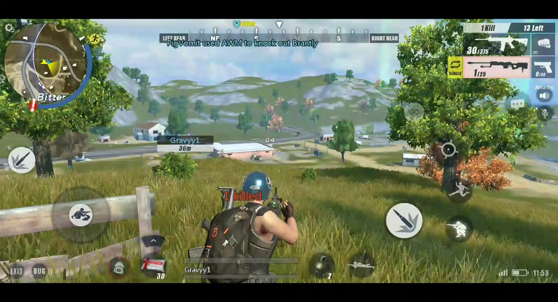 rules of survival fps mod