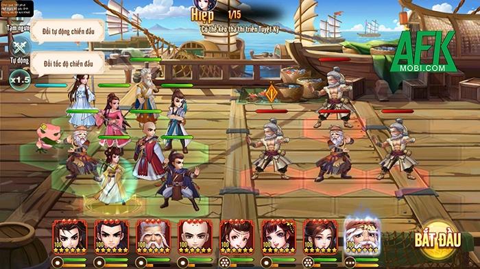 Tiếu Ngạo Độc Tôn: Game đấu tướng đề tài Kim Dung sắp ra mă